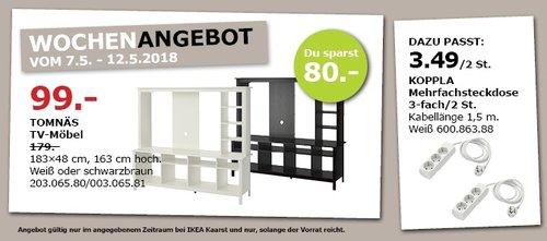 IKEA TOMNÄS TV-Möbel - jetzt 45% billiger