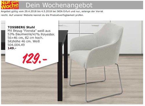 IKEA TOSSBERG Stuhl - jetzt 13% billiger