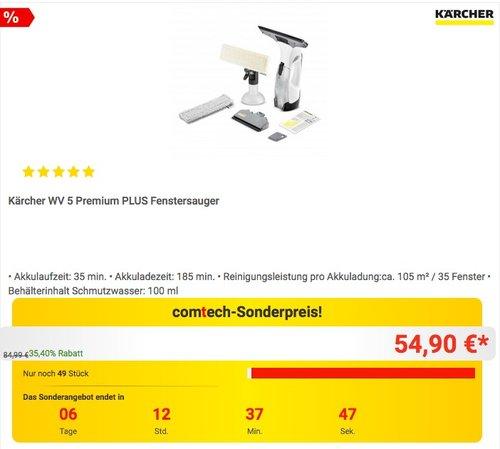 Kärcher WV 5 Premium PLUS Fenstersauger - jetzt 20% billiger