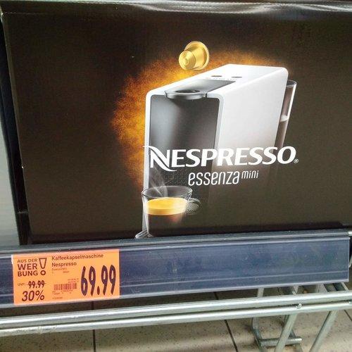 Krups Nespresso XN110B Essenza Mini Kaffeekapselmaschine - jetzt 13% billiger