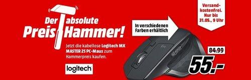 LOGITECH MX MASTER 2S Maus - jetzt 27% billiger