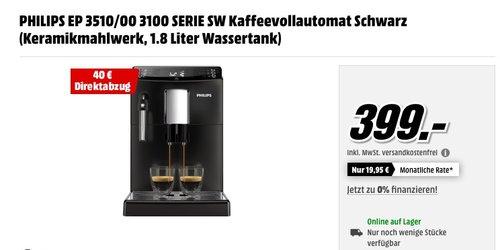 PHILIPS EP 3510/00 3100 SERIE SW Kaffeevollautomat - jetzt 10% billiger