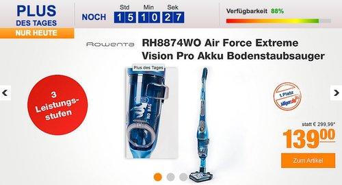 Rowenta RH8874WO Air Force Extreme Vision Pro Akku Bodenstaubsauger - jetzt 26% billiger