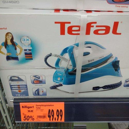 Tefal GV4620 Hochdruck-Dampfbügelstation Optimo - jetzt 50% billiger