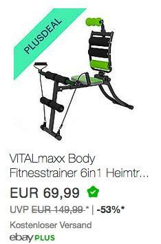 VITALmaxx Body Fitnesstrainer 6in1 - jetzt 10% billiger