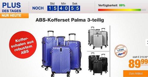ABS-Kofferset Palma 3-teilig - jetzt 25% billiger