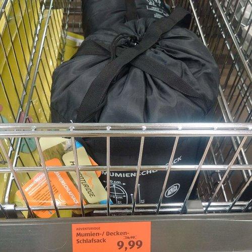 ADVENTURIDGE Mumien- /Decken - Schlafsack - jetzt 33% billiger