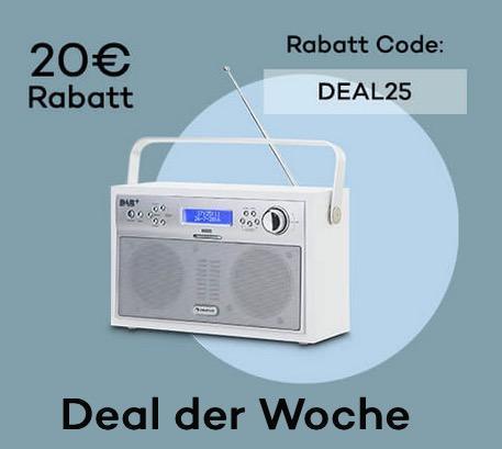 Akkord Digitalradio portabel DAB+/PLL-UKW Radio - jetzt 34% billiger