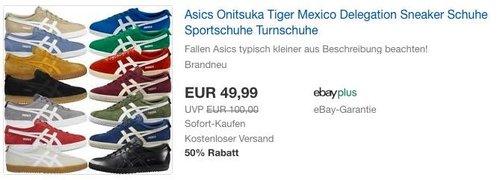 Asics Onitsuka Tiger Mexico Delegation Sneaker in verschieden Farben und Größen - jetzt 17% billiger