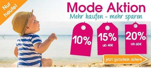 Babymarkt.de  bis 20% Rabatt auf Mode: Steiff Weste marine - jetzt 15% billiger