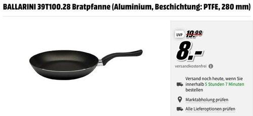BALLARINI 39T100.28 Aluminium Bratpfanne 28 cm - jetzt 44% billiger