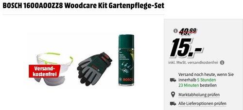 BOSCH 1600A00ZZ8 Woodcare Kit Gartenpflege-Set - jetzt 56% billiger