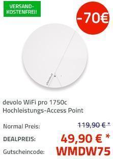 devolo WiFi pro 1750c Hochleistungs-Access Point - jetzt 58% billiger
