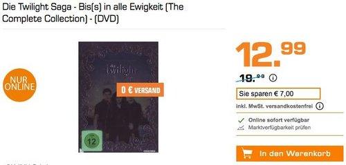 Die Twilight Saga - Bis(s) in alle Ewigkeit (The Complete Collection) - (DVD) - jetzt 32% billiger