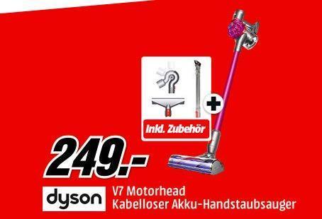 DYSON V7 Motorhead Stielsauger + DYSON 968335-01 V7/V8 Komplettpflege Set - jetzt 12% billiger