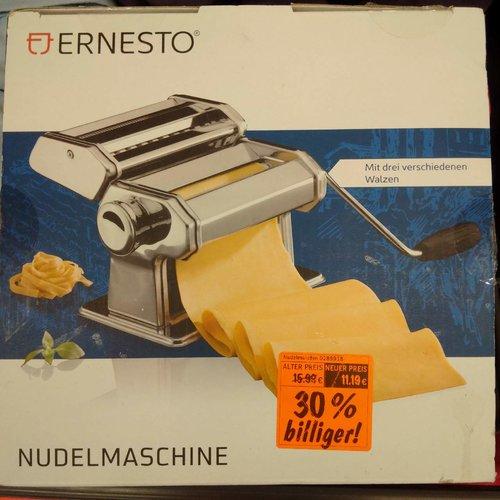 ERNESTO Nudelmaschine mit 3 verschiedenen Walzen - jetzt 25% billiger