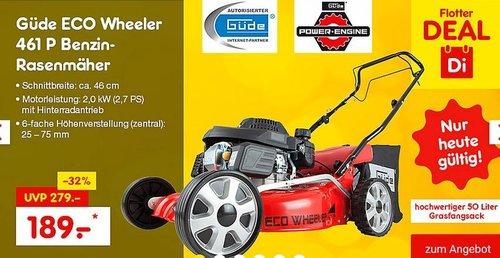 Güde ECO Wheeler 461 P Benzin-Rasenmäher - jetzt 7% billiger