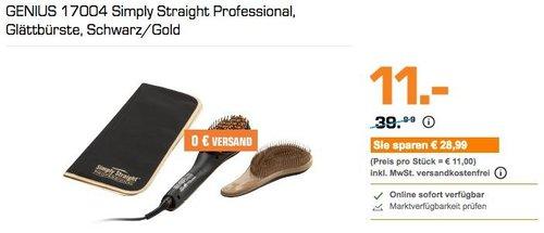 GENIUS 17004 Simply Straight Professional Glättbürste - jetzt 45% billiger