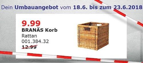 IKEA BRANÄS Korb - jetzt 23% billiger
