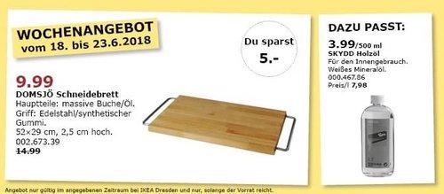 IKEA DOMSJÖ Schneidebrett - jetzt 33% billiger