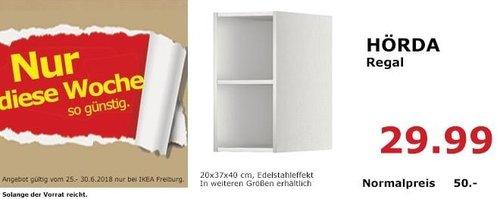IKEA HÖRDA Regal, 20x37x40 cm - jetzt 40% billiger