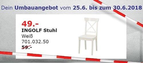 IKEA INGOLF Stuhl - jetzt 17% billiger