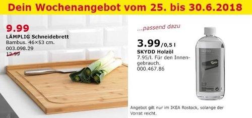 IKEA LÄMPLIG Schneidebrett - jetzt 23% billiger