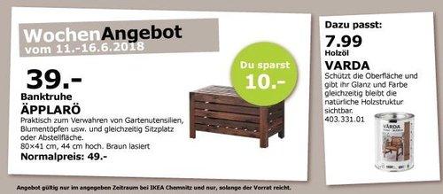 IKEA ÄPPLARÖ Banktruhe - jetzt 20% billiger