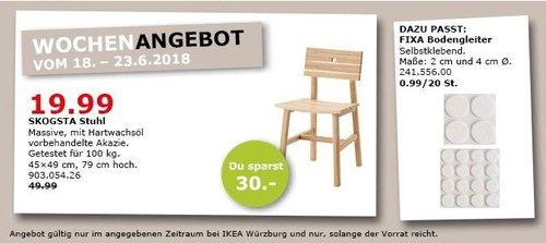 IKEA SKOGSTA Stuhl - jetzt 60% billiger