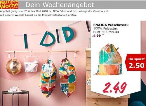 IKEA SNAJDA Wäschesack - jetzt 50% billiger
