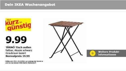 IKEA TÄRNÖ Tisch - jetzt 50% billiger