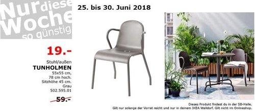 IKEA TUNHOLMEN Stuhl - jetzt 68% billiger