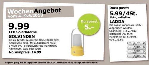 IKEA SOLVINDEN Solarlaterne - jetzt 33% billiger