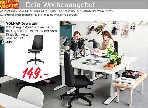 IKEA VOLMAR Drehstuhl - jetzt 40% billiger