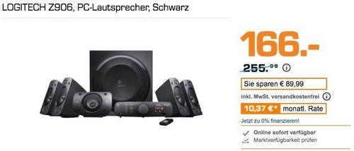 LOGITECH Z906 5.1 Multimedia-Lautsprecher, PC-Lautsprecher - jetzt 28% billiger