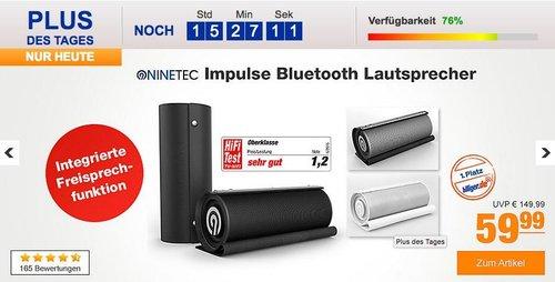 NINETEC Impulse Bluetooth 20W NFC Aux Lautsprecher, verschiedene Farben - jetzt 39% billiger