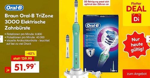 Oral-B TriZone 3000 Elektrische Zahnbürste - jetzt 16% billiger