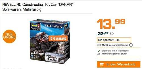 """Revell Control 24710 - Technik RC Car """"DAKAR"""" als Bausatz mit 27 Mhz Fernsteuerung - jetzt 22% billiger"""