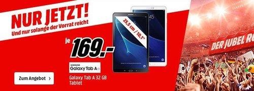 SAMSUNG Galaxy Tab A 10.1 Wi-Fi (2016) 32 GB 10.1 Zoll Tablet - jetzt 15% billiger