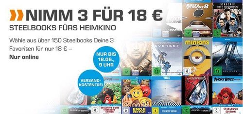 Saturn Aktion: 3 Stellbooks für 18 € - jetzt 66% billiger