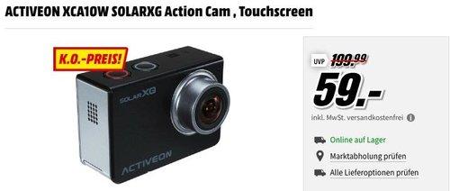 ACTIVEON XCA10W SOLARXG Action Cam - jetzt 24% billiger