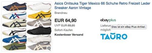 Asics Onitsuka Tiger Mexico 66 - jetzt 13% billiger