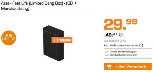 Azet - Fast Life (Limited Gang Box) - (CD + Merchandising) - jetzt 40% billiger