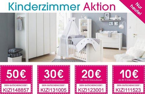 Babymarkt.de - bis zu 50€ Rabatt auf Kinderzimmer-Ausstattung: z.B. TiCAA Hausbett mit Zusatzbett Safari - jetzt 9% billiger