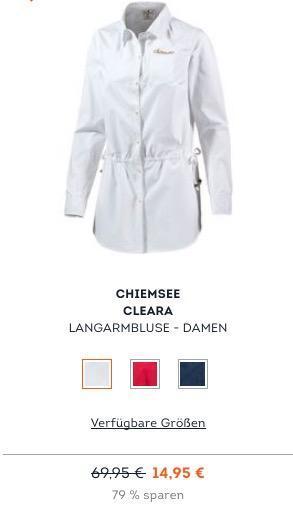 Chiemsee Cleara - Langarmbluse Damen - jetzt 31% billiger
