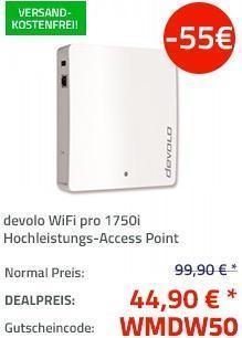 devolo WiFi pro 1750i Hochleistungs-Access Point - jetzt 55% billiger