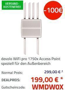 devolo WiFi pro 1750x professioneller Access Point - jetzt 33% billiger