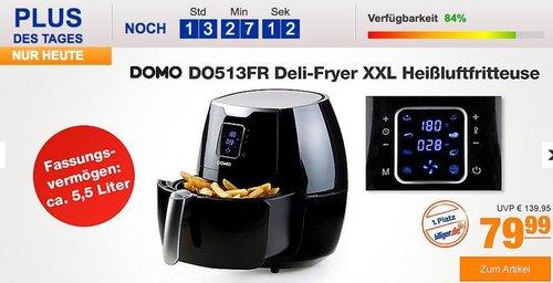 DOMO DO513FR Deli-Fryer XXL Heißluftfritteuse - jetzt 22% billiger