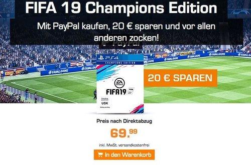 FIFA 19 Champions Edition PS4 - jetzt 22% billiger