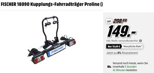 FISCHER 18090 Kupplungs-Fahrradträger Proline - jetzt 40% billiger
